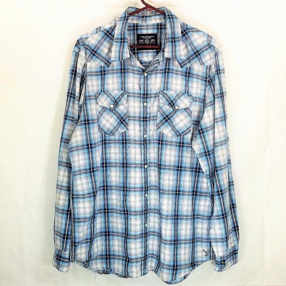 2ef7af49dc American Eagle Outfitters Other - Western Pearl Snap American Eagle  Outfitters Shirt